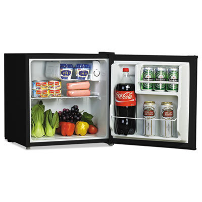 View larger image of 1.6 Cu. Ft. Refrigerator with Chiller Compartment, Black