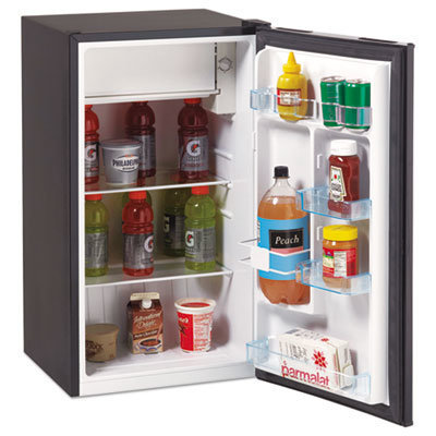 View larger image of 3.3 Cu.Ft Refrigerator with Chiller Compartment, Black