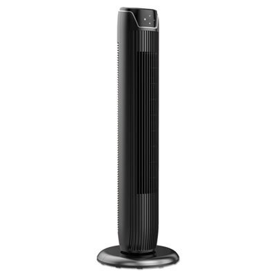 """View larger image of 36"""" 3-Speed Oscillating Tower Fan with Remote Control, Plastic, Black"""