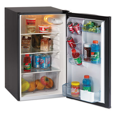 """View larger image of 4.4 CF Auto-Defrost Refrigerator, 19 1/2""""w x 22""""d x 33""""h, Black"""