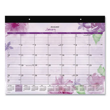 Beautiful Day Desk Pad, 21.75 x 17, Assorted, 2021