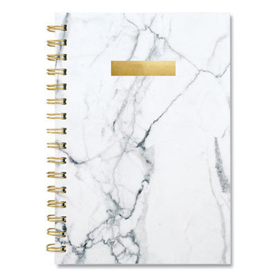 View larger image of Bianca Weekly/Monthly Planner, 8.5 x 5.5, Gray Marbled, 2021