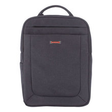 """Cadence 2 Section Business Backpack, For Laptops 15.6"""", 6"""" x 6"""" x 17"""", Charcoal"""