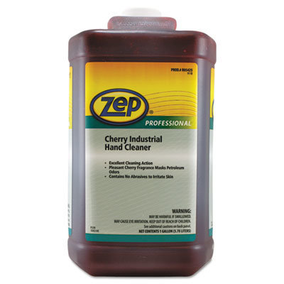 View larger image of Cherry Industrial Hand Cleaner, Cherry, 1 gal Bottle, 4/Carton