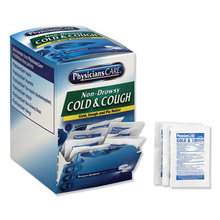 Cold and Cough Congestion Medication, Two-Pack, 50 Packs/Box