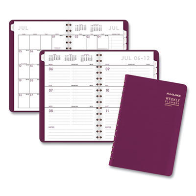View larger image of Contemporary Academic Planner, 8 x 4.88, Purple, 2020-2021