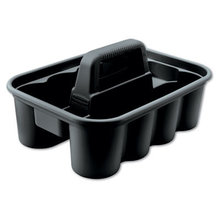 Deluxe Carry Caddy, 8-Compartment, 15w x 7.4h, Black