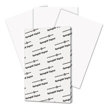 Digital Index White Card Stock, 92 Bright, 90lb, 11 x 17, White, 250/Pack