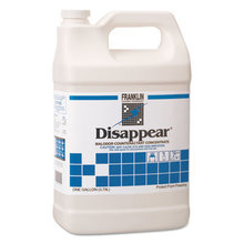 Disappear Concentrated Odor Counteractant, Spring Bouquet Scent, 1 gal, 4/Carton