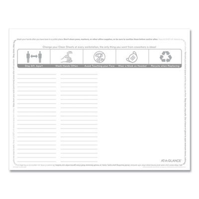 View larger image of Disposable Clean Sheets, 25 Sheets, 17 x 22, White, 25/Pack