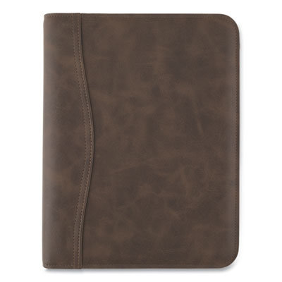 View larger image of Distressed Brown Leather Starter Set, 11 x 8.5, Brown
