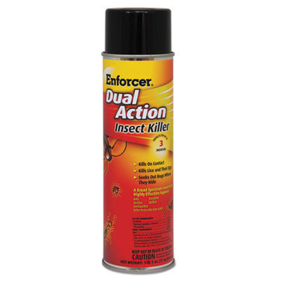View larger image of Dual Action Insect Killer, For Flying/Crawling Insects, 17oz Aerosol,12/Carton