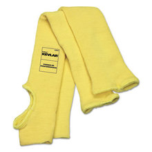 Economy Series DuPont Kevlar Fiber Sleeves, One Size Fits All, Yellow, 1 Pair