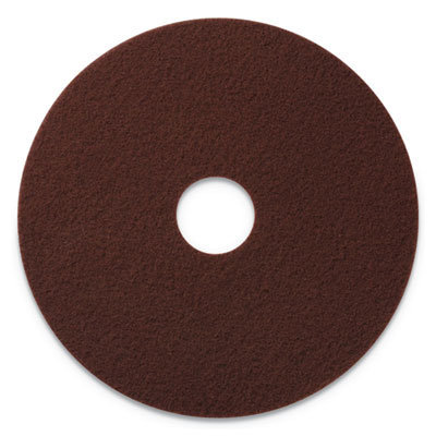 """View larger image of EcoPrep EPP Specialty Pads, 20"""" Diameter, Maroon, 10/CT"""