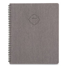 Elevation Linen Weekly/Monthly Planner, 11 x 8.5, Black, 2021