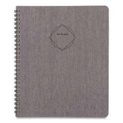 View larger image of Elevation Linen Weekly/Monthly Planner, 8.75 x 7, Black, 2021