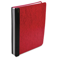 """Expandable Hanging Data Binder, 2 Posts, 6"""" Capacity, 11 x 8.5, Red"""