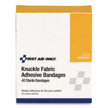 """Fabric Bandages, Four-Wing Knuckle, 2.5"""" x 3.25"""", 40/Box"""
