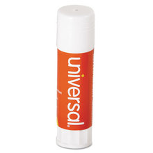 Glue Stick, 0.74 oz, Applies and Dries Clear, 12/Pack