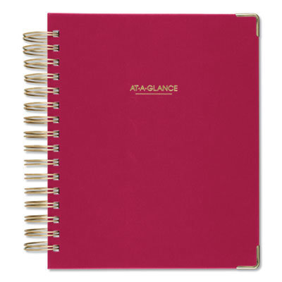 View larger image of Harmony Daily Hardcover Planner, 8.75 x 7, Berry, 2021