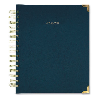 View larger image of Harmony Weekly/Monthly Hardcover Planner, 8.75 x 7, Navy Blue, 2021