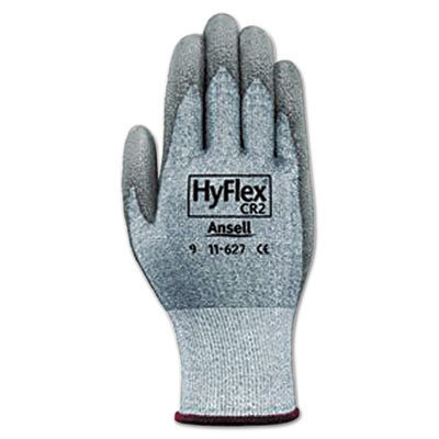 View larger image of HyFlex 627 Light-Duty Gloves, Size 10, Dyneema/Lycra/Polyurethane, GY, 12 Pairs