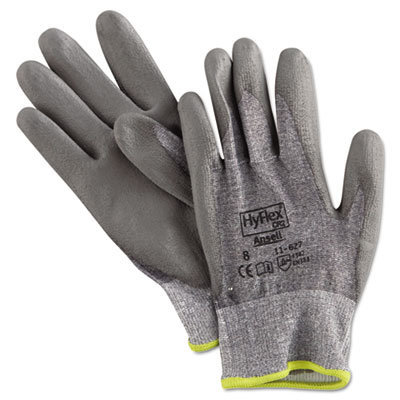 View larger image of HyFlex 627 Light-Duty Gloves, Size 8, Dyneema/Lycra/Polyurethane, GY, 12 Pairs