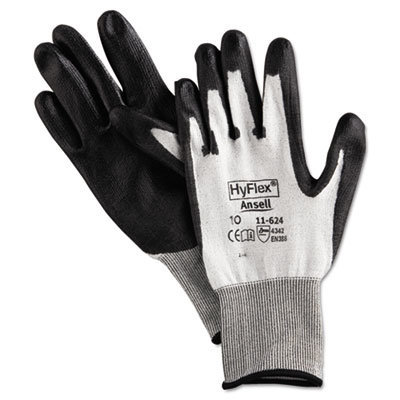View larger image of HyFlex Dyneema Cut-Protection Gloves, Gray, Size 10, 12 Pairs