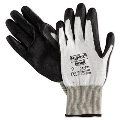 View larger image of HyFlex Dyneema Cut-Protection Gloves, Gray, Size 9, 12 Pairs