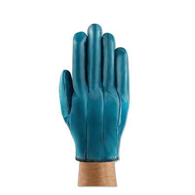 View larger image of Hynit Nitrile Gloves, Blue, Size 7 1/2