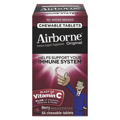 View larger image of Immune Support Chewable Tablet, Berry, 64 Count