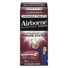 Immune Support Chewable Tablets, 32 Tablets per box