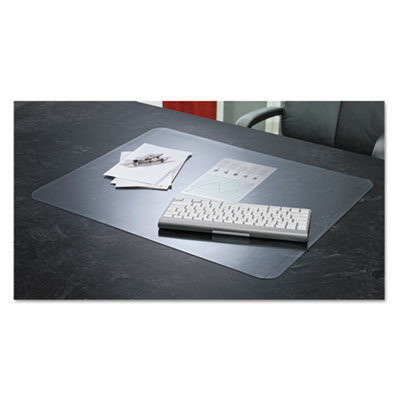 View larger image of KrystalView Desk Pad with Antimicrobial Protection, 24 x 19, Clear