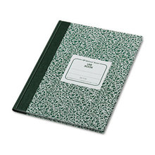 Lab Notebook, Quadrille, 10 1/8 x 7 7/8, White, 96 Sheets