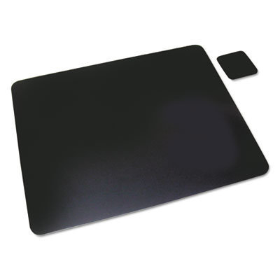 View larger image of Leather Desk Pad w/Coaster, 20 x 36, Black