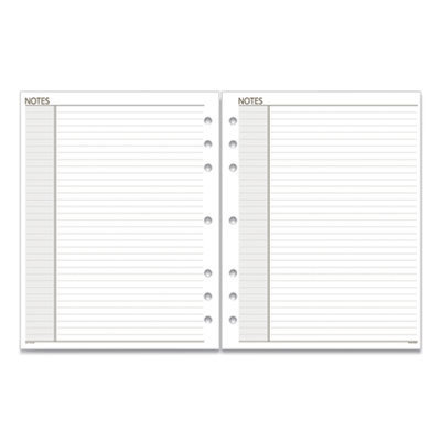 View larger image of Lined Notes Pages, 11 x 8.5, White, 30/Pack