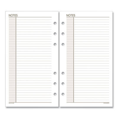 View larger image of Lined Notes Pages, 6.75 x 3.75, White, 30/Pack