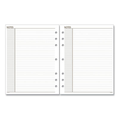 View larger image of Lined Notes Pages, 8.5 x 5.5, White, 30/Pack
