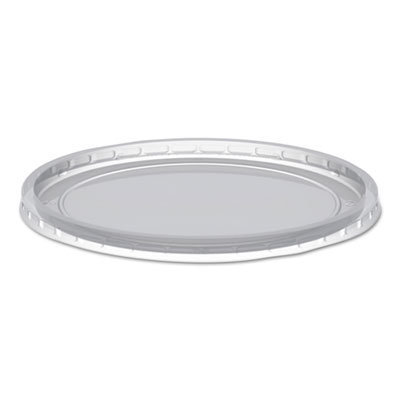 View larger image of MicroLite Deli Tub Lid, Clear, Inside-Cap Fit, Fits 8-32 oz Containers, 500/Carton