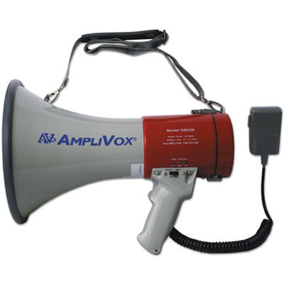 View larger image of MityMeg Piezo Dynamic Megaphone, 25W w/Coiled Microphone