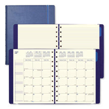 Monthly Planner, 10.75 x 8.5, Blue, 2020-2021