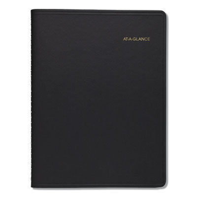 View larger image of Monthly Planner, 11 x 9, Black, 2021-2022