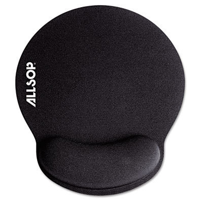 View larger image of MousePad Pro Memory Foam Mouse Pad with Wrist Rest, 9 x 10 x 1, Black