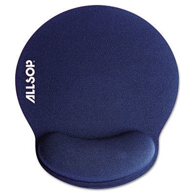 View larger image of MousePad Pro Memory Foam Mouse Pad with Wrist Rest, 9 x 10 x 1, Blue