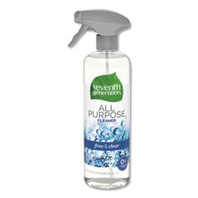 Natural All-Purpose Cleaner, Free and Clear/Unscented, 23 oz, 8/Carton