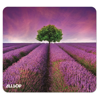 View larger image of Naturesmart Mouse Pad, Lavender Field Design, 8 1/2 x 8 x 1/10