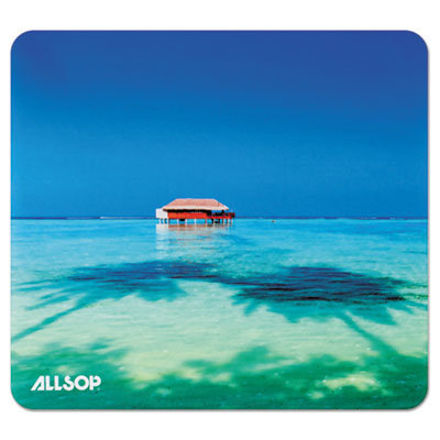 View larger image of Naturesmart Mouse Pad, Tropical Maldives, 8 1/2 x 8 x 1/10