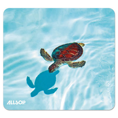 View larger image of Naturesmart Mouse Pad, Turtle Design, 8 1/2 x 8 x 1/10