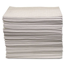"""Oil Only Sorbent Pad 15""""x17"""", Heavy-Weight"""