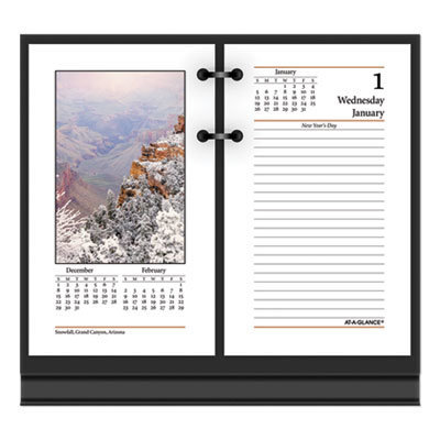 View larger image of Photographic Desk Calendar Refill, 3.5 x 6, 2021
